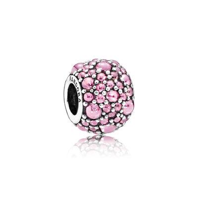 Shimmering Droplets, Pink CZ