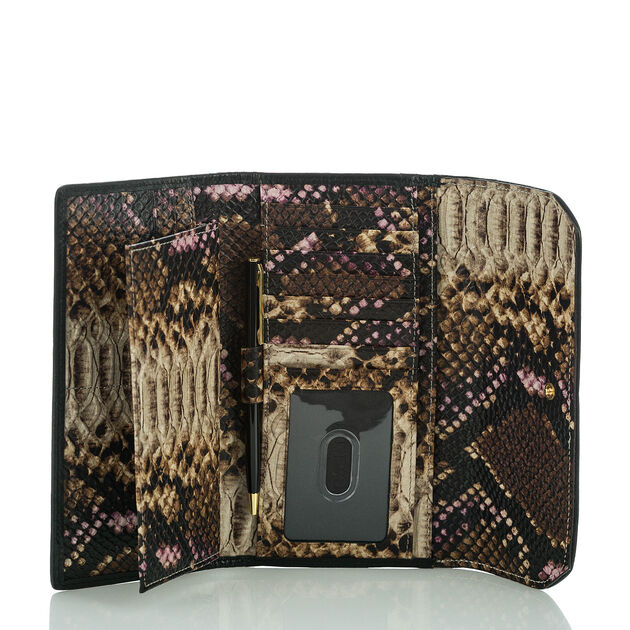 Soft Checkbook Wallet Creme Botan