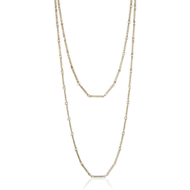 Endless Bar Chain 18K Gold Plated Providence, 18K Gold Plated, hi-res