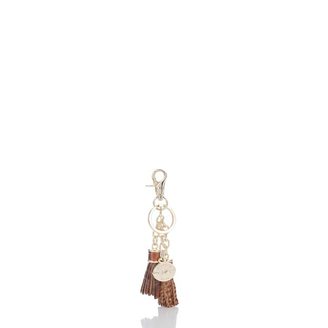 Tassel Key Ring Toasted Almond Melbourne, Toasted Almond, hi-res