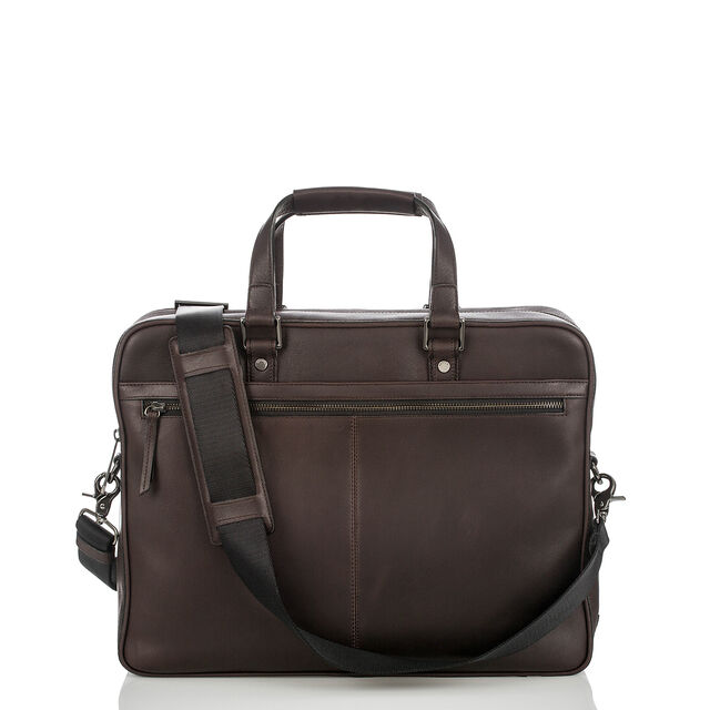 Andy Briefcase Brown Bedford, Brown, hi-res