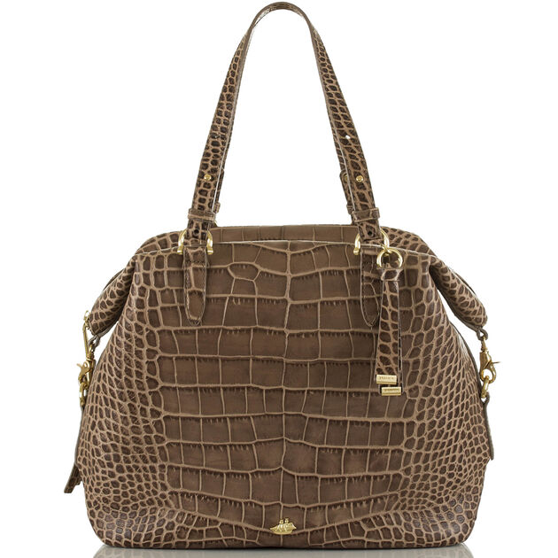 Delaney Tote Taupe Savannah