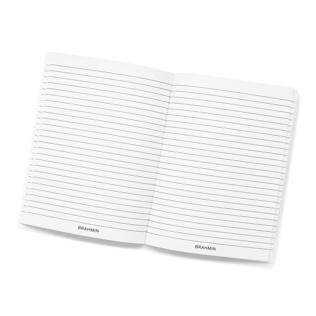 Ruled Notebook Side-Bound 6x8 White Stationery, White, hi-res