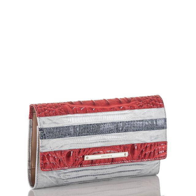 Soft Checkbook Wallet Bluestone Habanera, Bluestone, hi-res