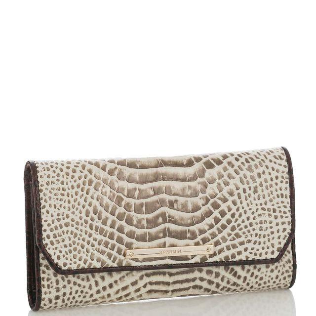 Soft Checkbook Wallet Creme Rhodes, Creme, hi-res