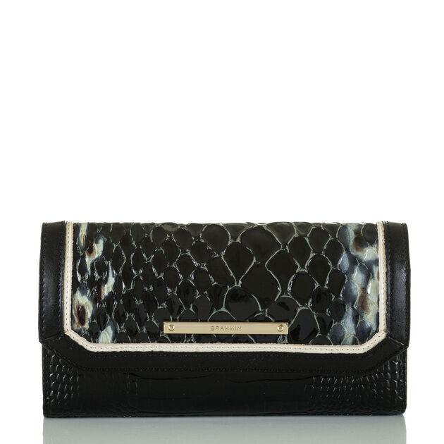 Soft Checkbook Wallet Black Carlisle, Black, hi-res