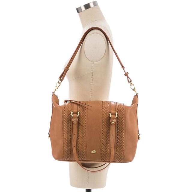Delaney Satchel Tan Knoxville, Tan, hi-res
