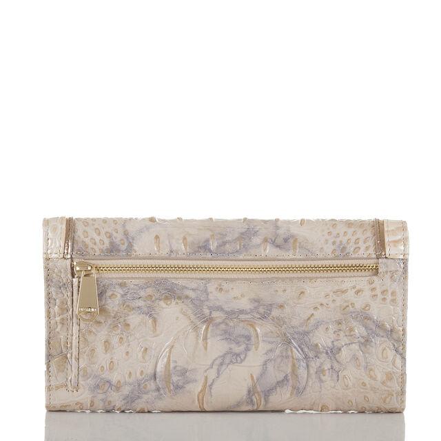 Soft Checkbook Wallet Topaz Alma, Topaz, hi-res