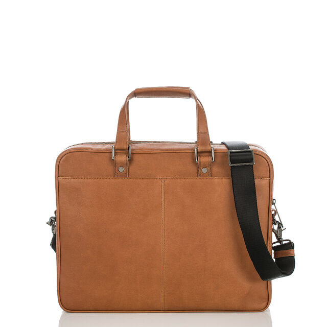 Andy Briefcase Brown Kesington, Brown, hi-res