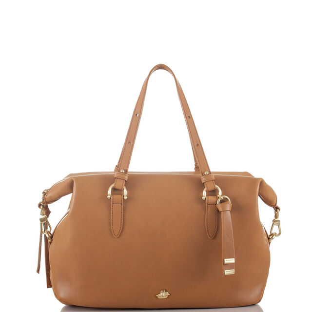 Delaney Satchel Tan Charleston, Tan, hi-res