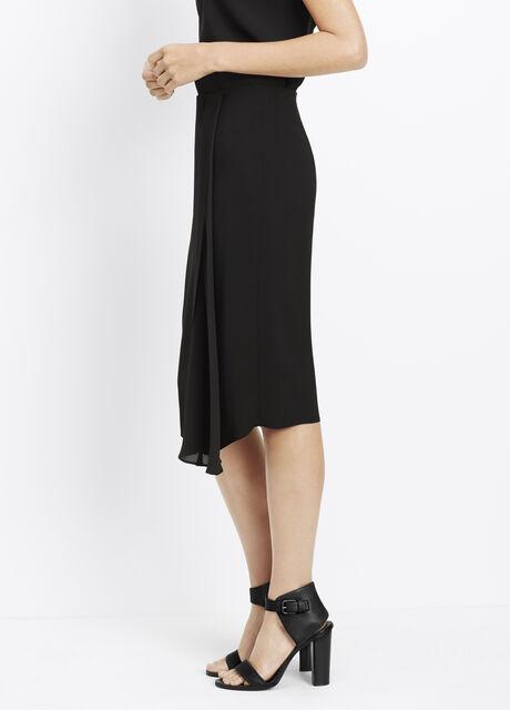 Drape Slit Skirt