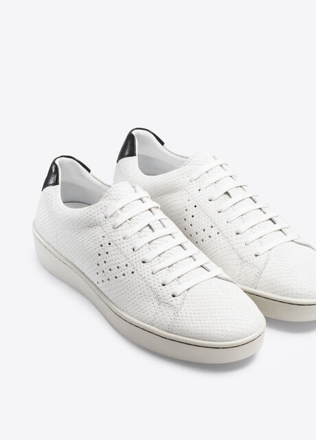 Simon Textured Leather Sneaker