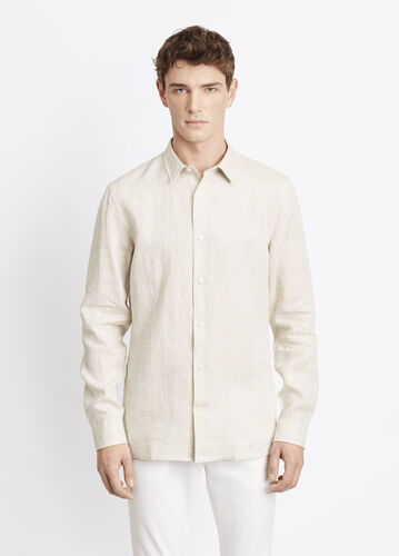 Melrose Linen Button Up