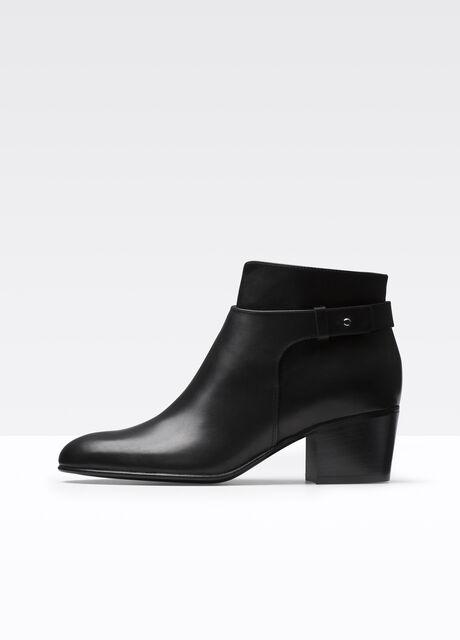Harriet Leather Bootie