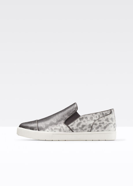 Paeyre Lizard Print Leather Sneaker