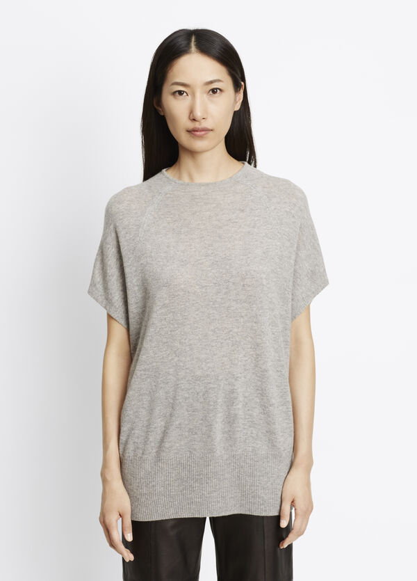 Cashmere High Neck Pullover