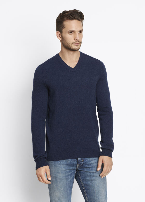 Cashmere Long Sleeve V-Neck