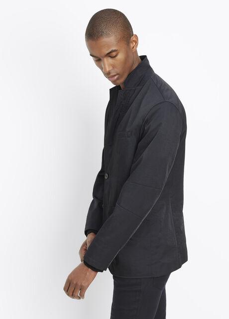 Nylon Twill Weekend Blazer