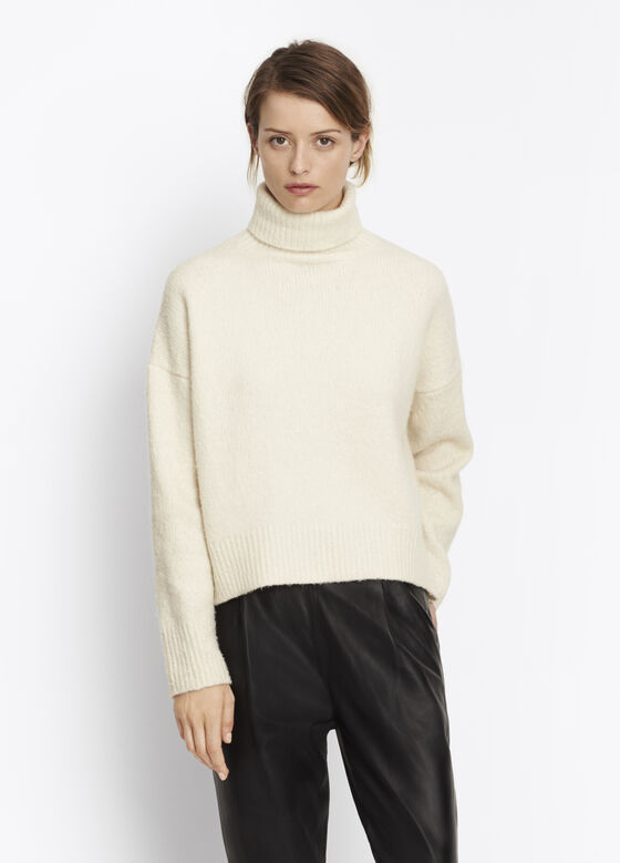High-Low Turtleneck