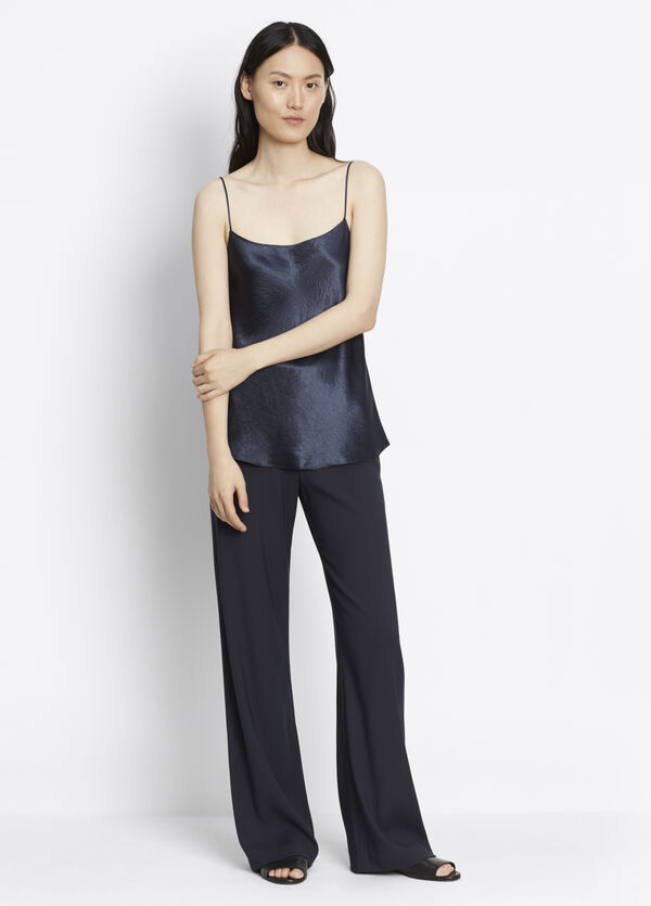 Deconstructed Wide Leg Pant