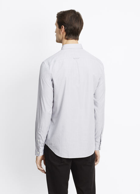Lightly Textured Button Up