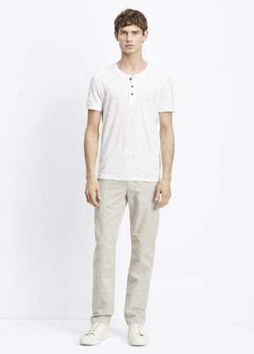 Linen Pull-On Pant