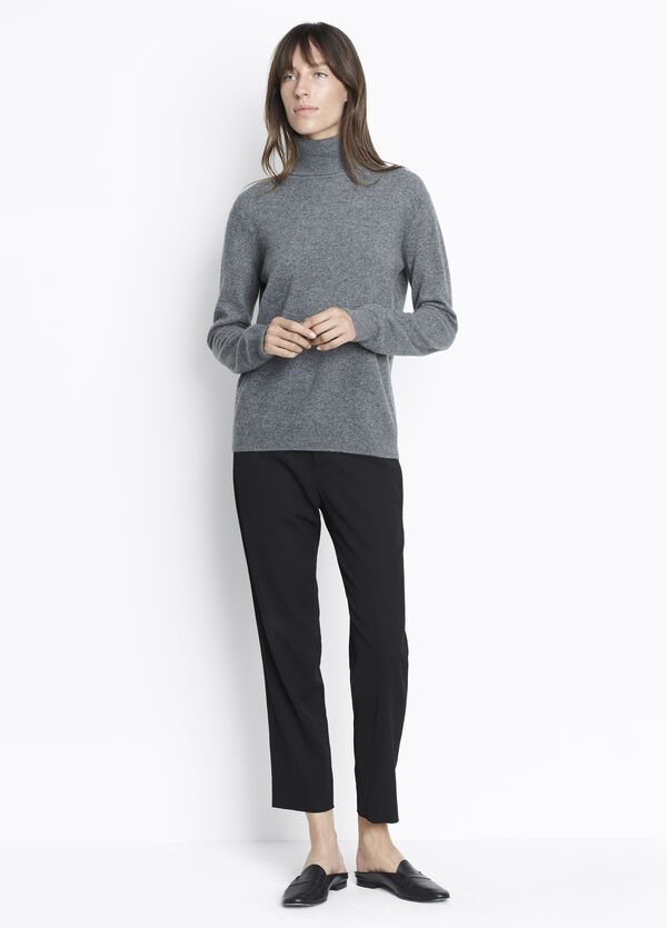 Cashmere Crop Turtleneck