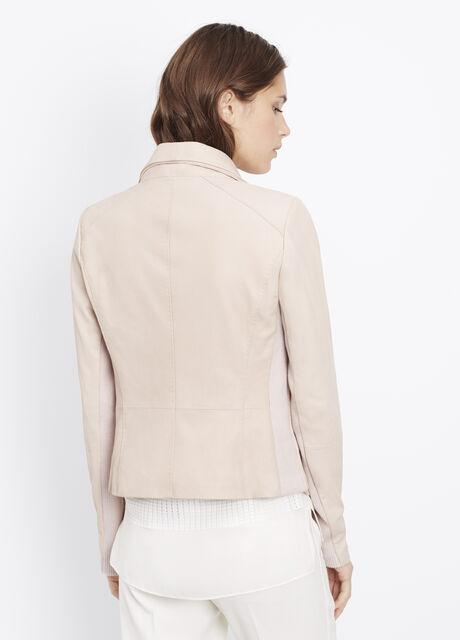 Leather Scuba Jacket