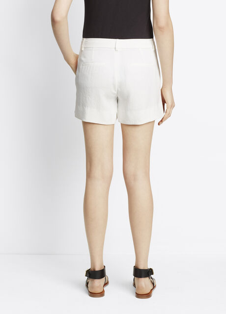 Washed Pique Trouser Short