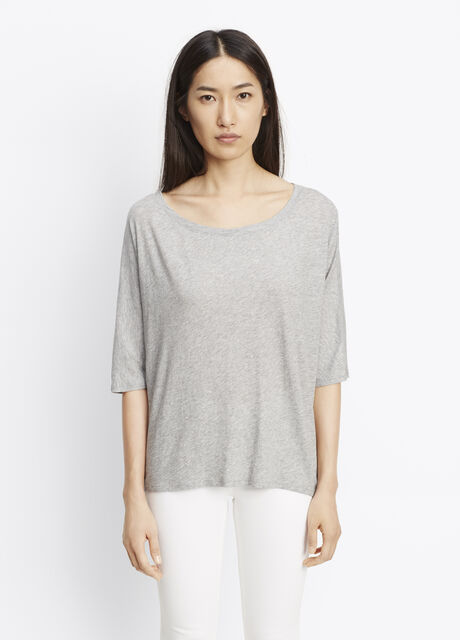 Pima Cotton Dolman Sleeve Tee