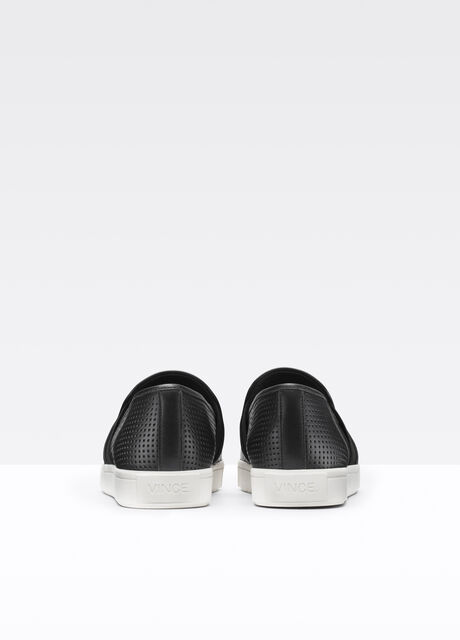 Pierce Perforated Leather Sneaker
