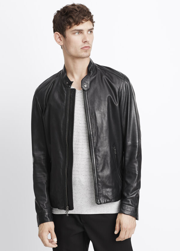 Essential Leather Moto Jacket