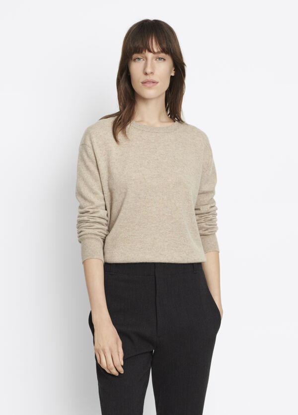 Cashmere Split Back