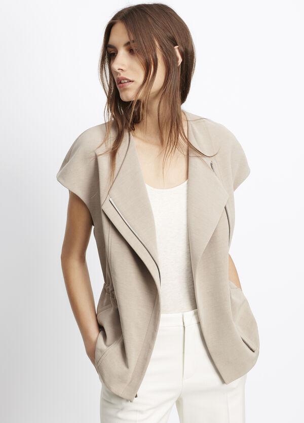 Cupro Cotton Vest