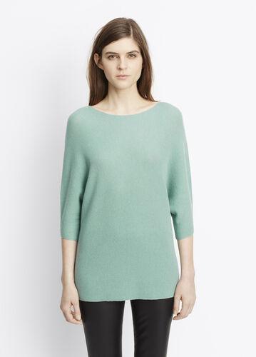 Cashmere Dolman Sleeve Sweater