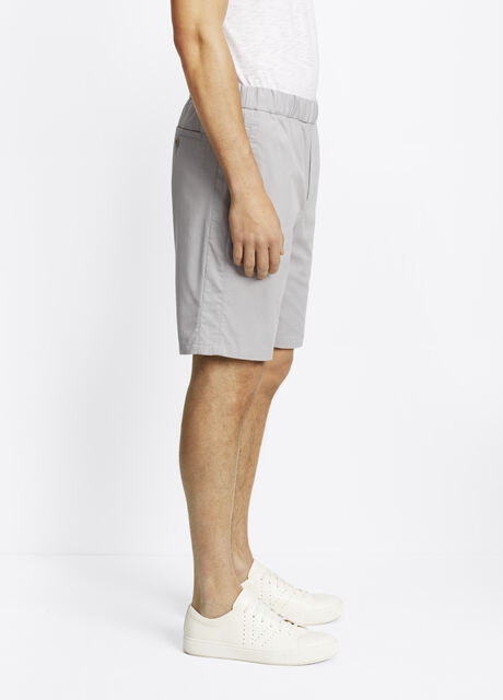 Cotton Twill Easy Pull-On Short