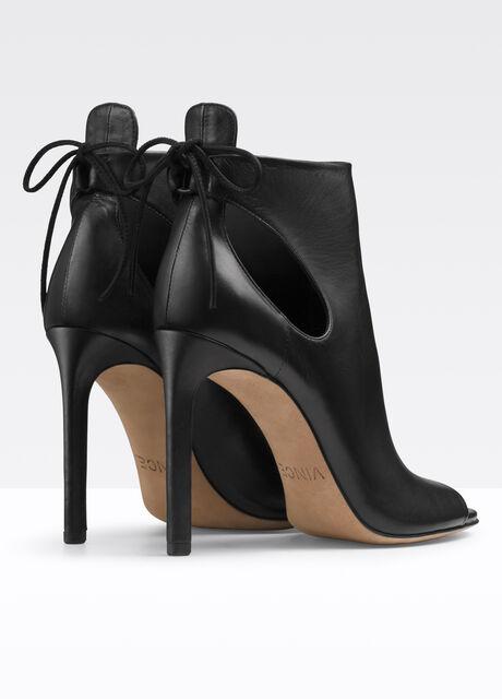 Gabrielle Leather  Heeled Sandal