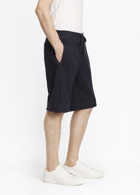 Slub Cotton Racking Stitch Thermal Short