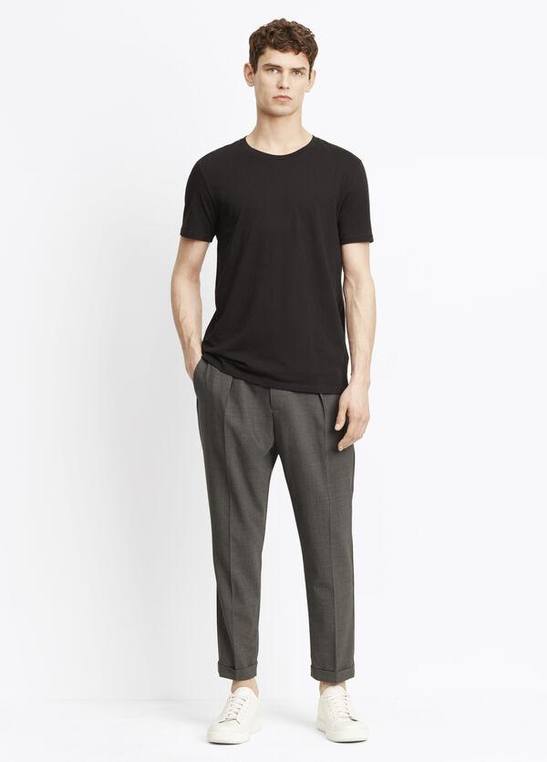 Long-Rise Cuffed Trouser