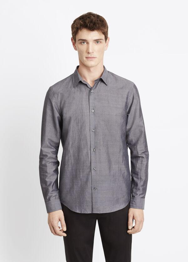 Melrose Linen Cotton Button Up
