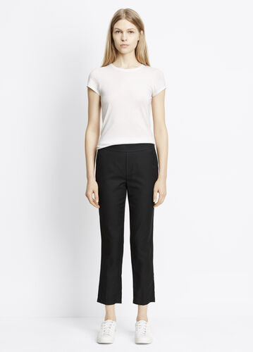 Cupro Cotton Pull-On Pant