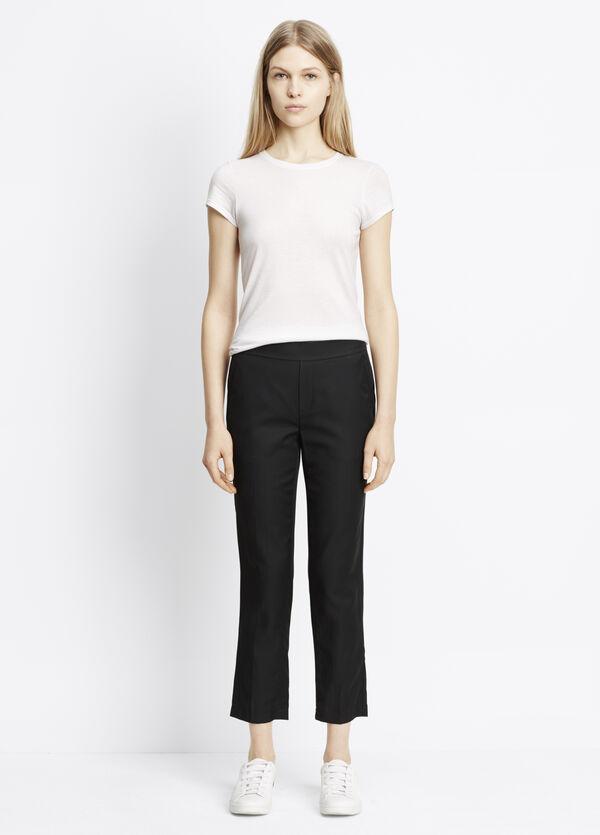 Cupro Cotton Pull-On Pant