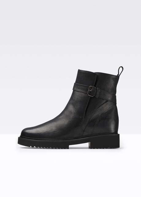 Claudia Leather Boot