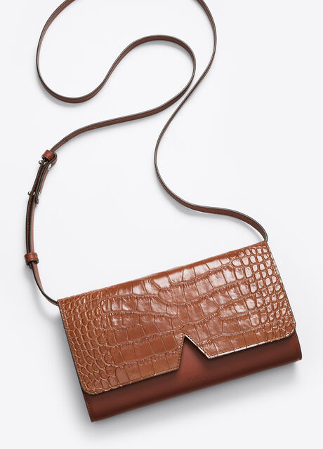 Vince Signature Collection Mixed Media Multifunction Pouch