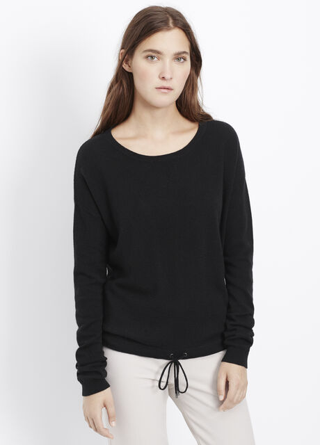 Luxe Lounge Wool Cashmere Sweater