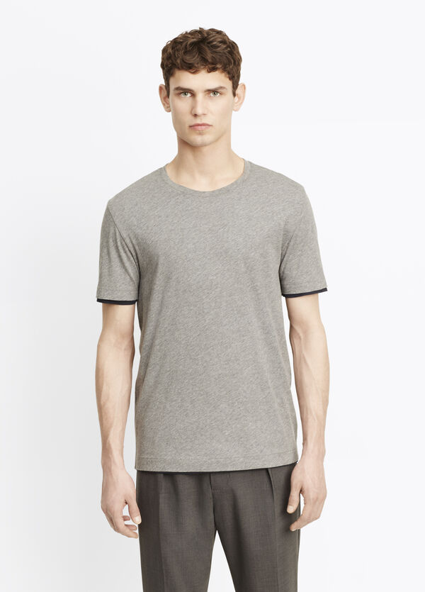 Pima Cotton Double Layer Reversible Tee