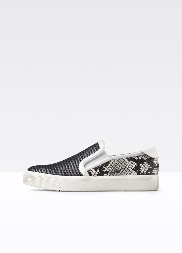 Bram Mixed Media Sneaker