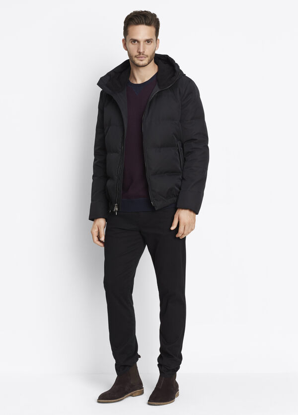 Quilted Down-Filled Parka