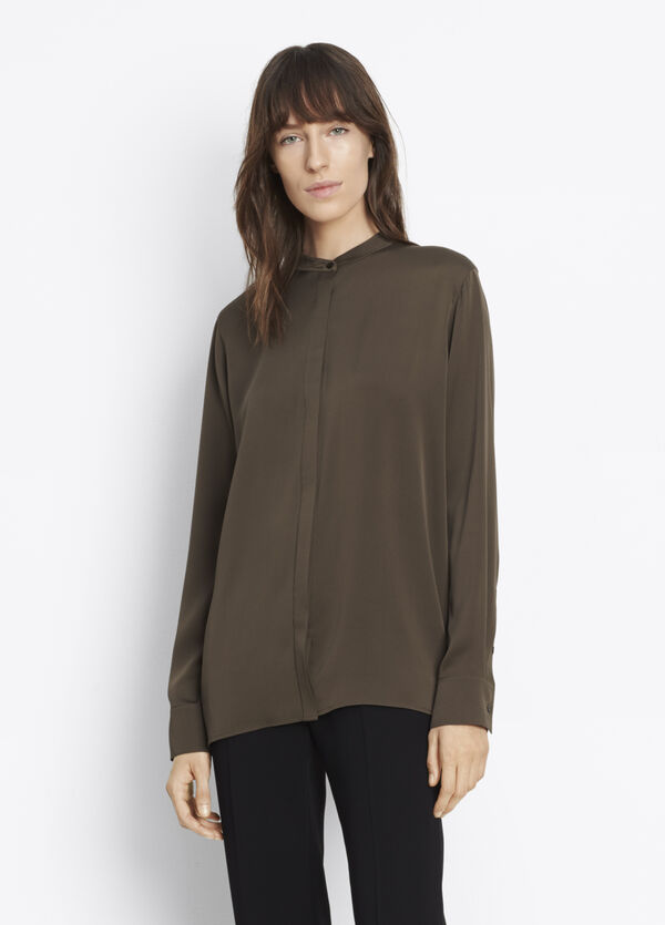 Slit Back Shirt