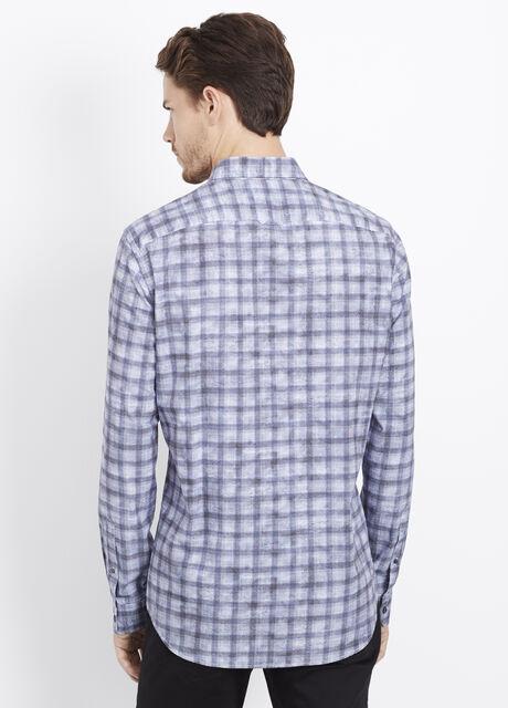 Melrose Cotton Multi-Plaid Button Up